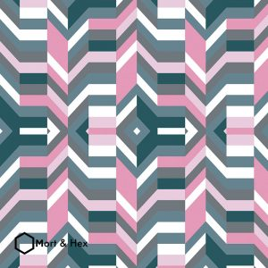Image of Aldo design for splashbacks or Feature Tiles from Mort & Hex and forthefloorandmore.com