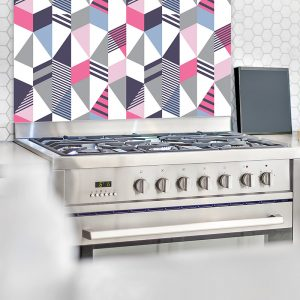 Image of Cibic as a splash back design by Mort & Hex and forthefloorandmore.com