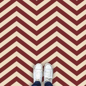 Image of Cooper chevron flooring from For the Floor & More